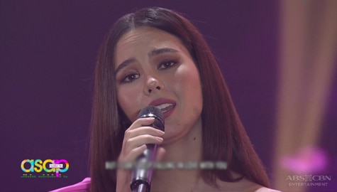 Fall in love with Catriona Gray's voice in this ASAP Natin 'To performance Image Thumbnail