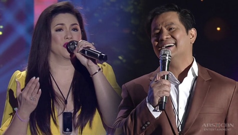 "Fall in love with Ogie and Regine's duet of ""Hanggang Ngayon"""