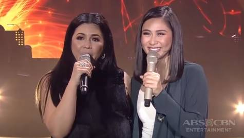 Regine Velasquez and Sarah Geronimo's dream collaboration on the ASAP Natin 'To stage  Image Thumbnail