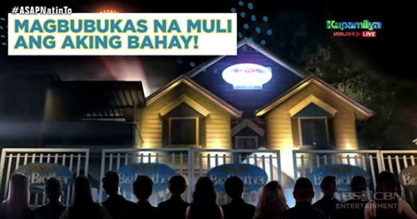 ASAP Natin To Kuya opens the new season of Pinoy Big Brother.'