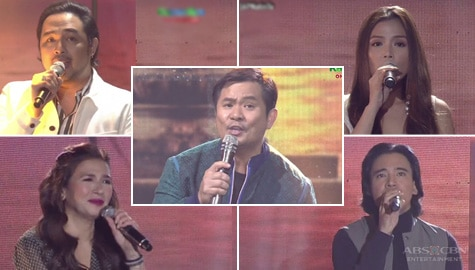 "Ogie, Zsa Zsa, Erik, Jed and Nina sing ""Love Is The Answer"" on ASAP Natin 'To Image Thumbnail"