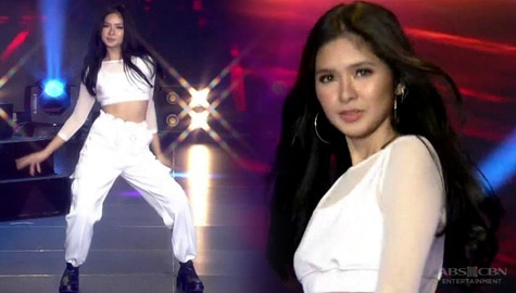 Loisa Andalio sets the dance floor on fire!
