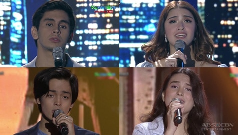 New generation of teen singers in a back-to-back hugot performance Image Thumbnail