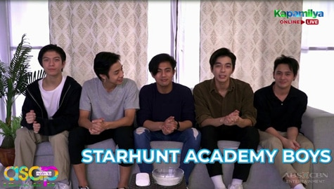 WATCH: Get to know more the Star Hunt Academy Boys!