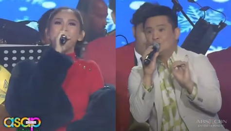 ASAP Natin 'To: Sarah G and Ogie Alcasid will take you to 'Winter Wonderland'  Image Thumbnail