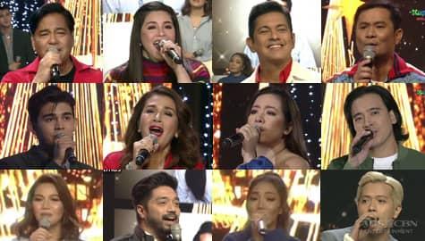 Kapamilya singing icons celebrate Christmas on ASAP Natin 'To stage Image Thumbnail