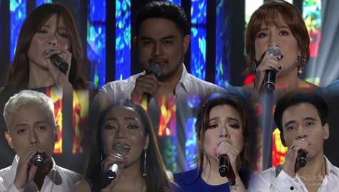 A back-to-back OPM performance from your Kapamilya singing icons