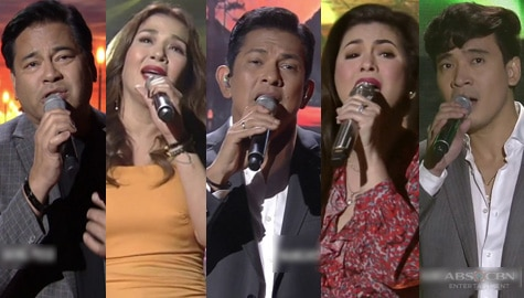 The Greatest Showdown in an OPM vocal showdown on ASAP Natin 'To