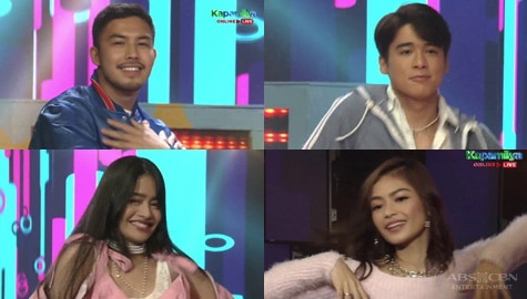 'Hello Stranger: The Movie' stars show off their dance moves on the ASAP stage Image Thumbnail