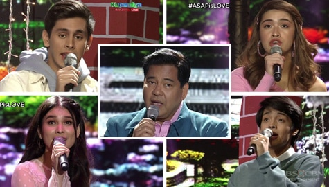 Martin Nievera's collaboration with ASAP's new breed of singers Image Thumbnail