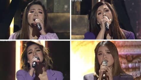 """Kapamilya Divas in a back-to-back performance of """"Sana'y Wala Nang Wakas"""" and """"Sana'y Maghintay Ang Walang Hanggan"""" Image Thumbnail"""