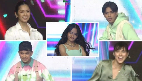 Vivoree, Kaori, Karina, Jin and Aljon join forces on the ASAP Natin 'To dance floor Image Thumbnail