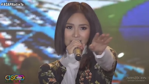 Sarah Geronimo sports a fierce new hairdo in her performance Thumbnail