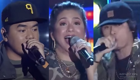 ASAP Throwback: Regine collaborates with Gloc 9 and Abra in a one of a kind raptastic performance Image Thumbnail
