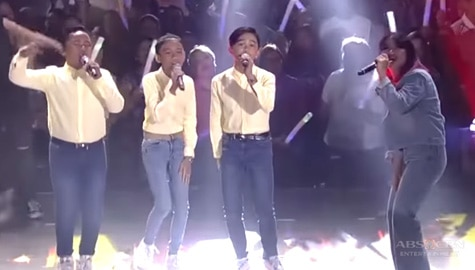 "ASAP Throwback: 'This Band' performs their hit song ""Kahit Ayaw Mo Na"" with TNT Boys! Image Thumbnail"