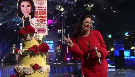 MUST-WATCH: Regine Velasquez-Alcasid's birthday celebration on ASAP Natin 'To Image Thumbnail