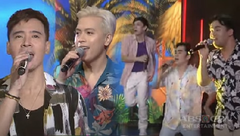 """Erik, Jason and iDolls in an electrifying performance of """"Pinoy Summer, Da Best Forever"""" Image Thumbnail"""
