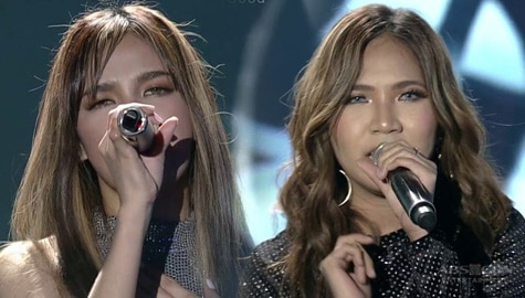 """Elaine and Zephanie in their all-out rendition of """"Di Na Muli"""" Image Thumbnail"""