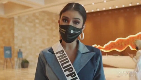 Miss Universe Philippines 2020 Rabiya Mateo's message for Filipino fans