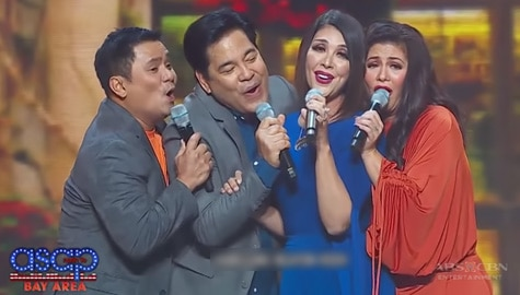 ASAP Throwback: Regine, Ogie, Pops and Martin's world-class collaboration Image Thumbnail