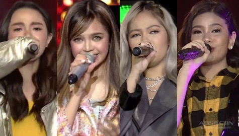 """Elha, Sheena, Janine and Zephanie perform their own rendition of MNL48's """"River"""" Image Thumbnail"""