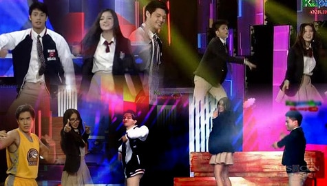"""""""He's Into Her"""" cast conquers the ASAP Natin 'To dance floor Image Thumbnail"""