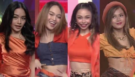 Sayaw Kikay! Maymay, AC, Maris and Vivoree show girl power on the ASAP Natin 'To dance floor Image Thumbnail