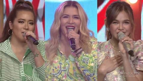 """Zsa Zsa, Angeline and Zephanie's version of """"Sasakyan Kita"""" Image Thumbnail"""