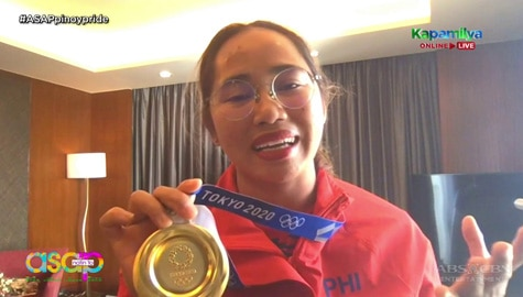 Hidilyn Diaz shares her Tokyo 2020 Olympics experience on ASAP Natin 'To  Image Thumbnail