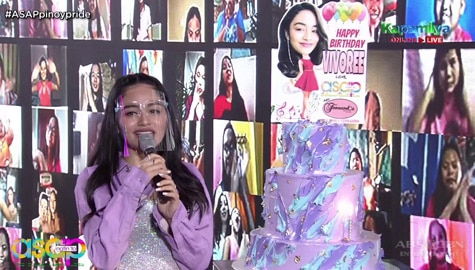Vivoree celebrates her special day on ASAP Natin 'To  Image Thumbnail