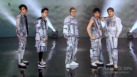 SB19 sets the ASAP Natin 'To stage on fire with their lit 'Bazinga' performance Image Thumbnail