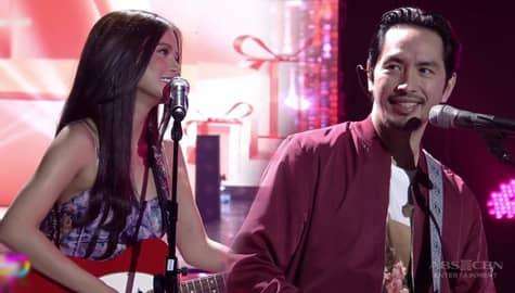 Rico and Maris' 'Abot Langit' duet will take you to kilig heaven! Image Thumbnail