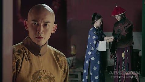 Story Of Yanxi Palace: Emperor Qian Long, nakita sina Fu Heng at Ying Luo na magkasama Image Thumbnail