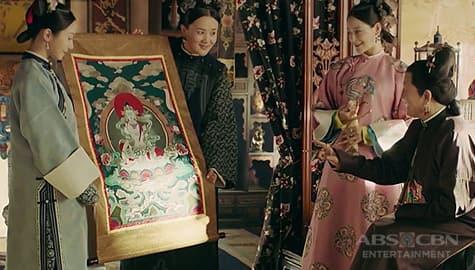 Story Of Yanxi Palace: Empress Dowager, natuwa sa burdang ginawa ni Ying Luo Image Thumbnail