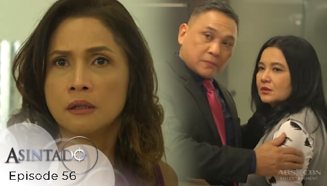 Asintado: Hillary, nahuling magkayakap sina Miranda at Salvador | Episode 56 Image Thumbnail
