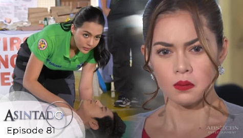 Asintado: Samantha, nagulat nang makita sa training ni Gael si Ana | Episode 81 Image Thumbnail