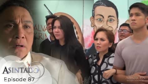 Asintado: Ana, hinamon sa gitna ng rally si Salvador | Episode 87 Image Thumbnail