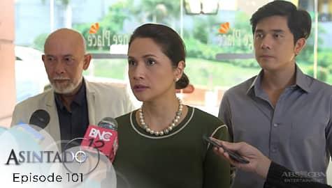 Asintado: Hillary, inilantad sa lahat ang relasyon nina Miranda at Salvador | Episode 101 Image Thumbnail
