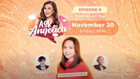 WATCH: Charo Santos-Concio on Ask Angelica