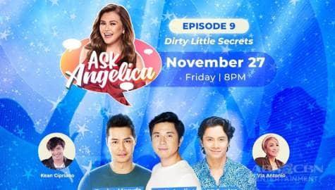 WATCH: Paulo Avelino, Zanjoe Marudo and JC Santos share their dirty little secrets on Ask Angelica Image Thumbnail