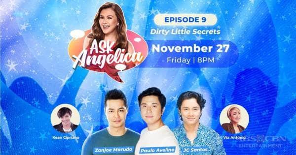 WATCH: Paulo Avelino, Zanjoe Marudo and JC Santos share their dirty little secrets on Ask Angelica