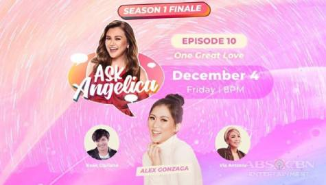 WATCH: Alex Gonzaga on Ask Angelica's season finale