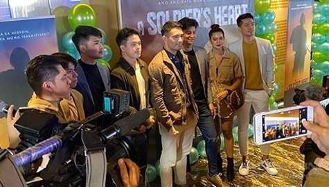HIGHLIGHTS: A Soldier's Heart Presscon
