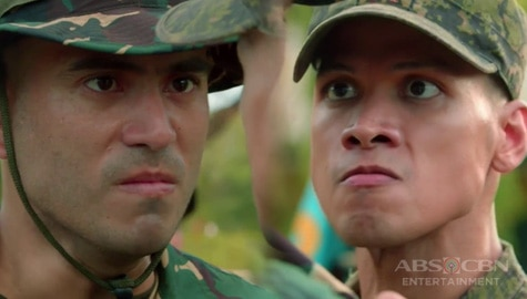 A Soldier's Heart: Alex at Elmer, nagkainitan sa kampo