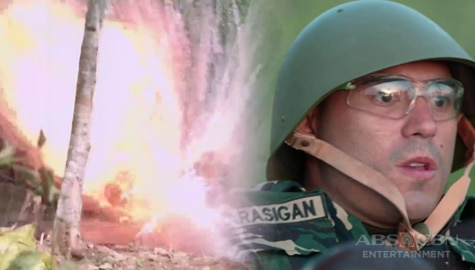 A Soldier's Heart: Alex, labis na nagulat sa pagsabog Image Thumbnail