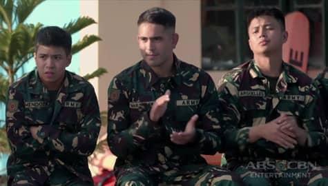 A Soldier's Heart: Alex at kanyang mga kasama, malapit na matapos sa kanilang training Image Thumbnail