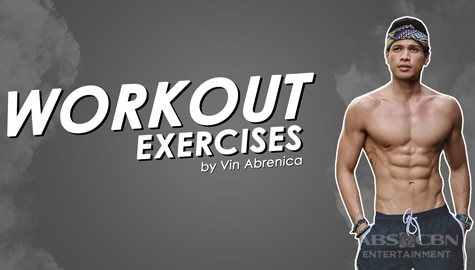 Vin Abrenica shares workout tips Image Thumbnail