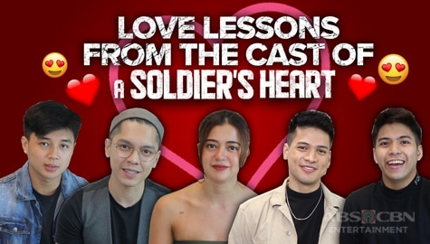 Love lessons from the stars of A Soldier's Heart Image Thumbnail