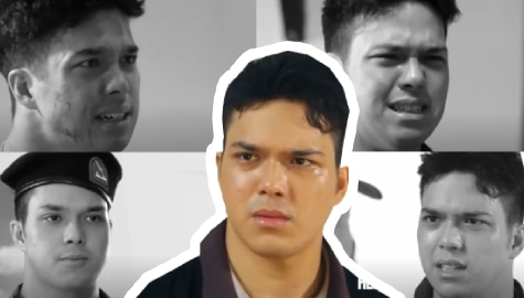 5 best 'acting' moments of Elmo Magalona as Jethro in A Soldier's Heart Image Thumbnail