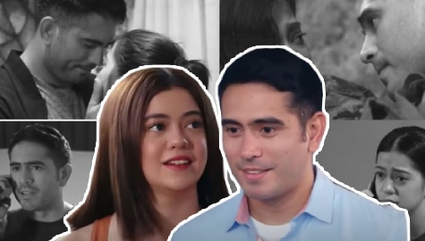 10 kilig moments of Alex and Lourd in A Soldier's Heart